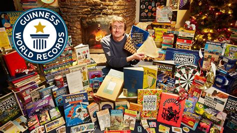 be be collection largest collection of guinness world records annuals guinness world records