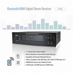 Pyle Pt592a Bluetooth 5 1 Channel Hdmi Digital Stereo