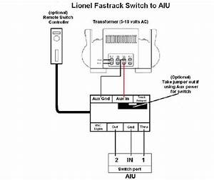 How To Wire Fastrack Switches To Mth Aiu