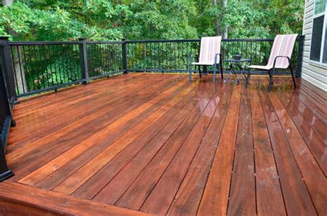 deck staining painting companies