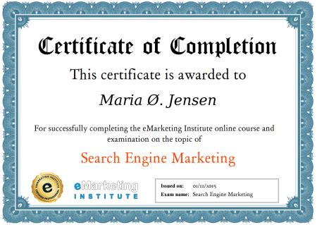 seo marketing course 100 free search engine marketing course certification