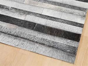 tapis jacob cuir gris naturel With tapis cuir gris
