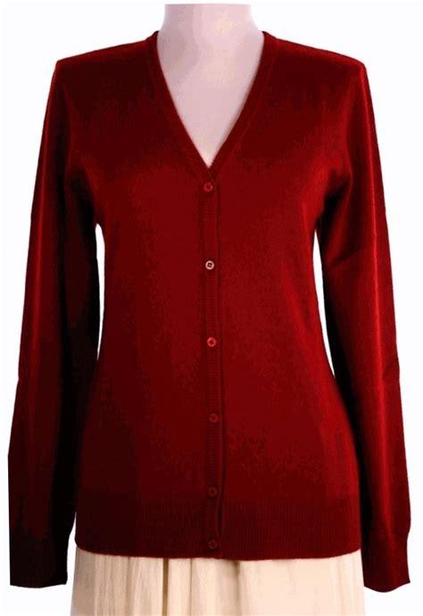 burgundy sweater womens 39 s cardigan v neck sweater burgundy