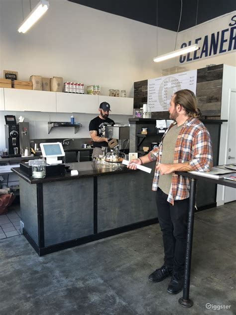 In the city of oakland in sunny california, the coffee shops, and the coffee itself, are just as diverse whether coffee drinkers are looking for a place to gather with friends, read a good book, get work. Oakland coffee shop + mural   Rent this location on Giggster