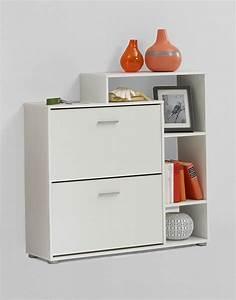 Meuble De Maison : meuble entree avec rangement chaussures ~ Teatrodelosmanantiales.com Idées de Décoration