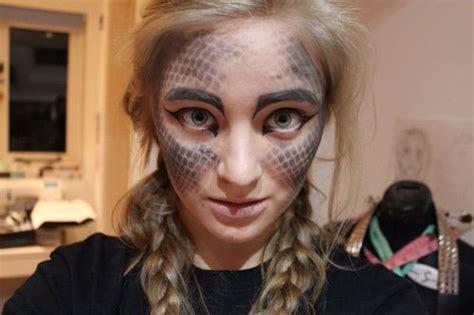 dragonscales makeup trick cosplay amino