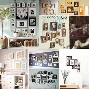 Mur De Photos : je fais un mur de cadres mur de cadres maginea ~ Melissatoandfro.com Idées de Décoration