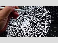 Hypnotising Mandala By Seb Lester Made Using Apple Pencil