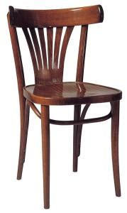 siege thonet chaises de bistrot en pin type thonet
