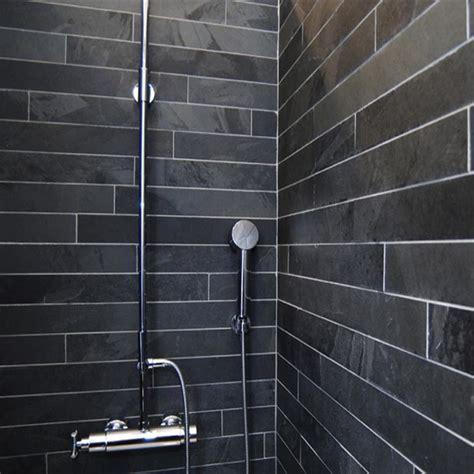 joint carrelage mural cuisine carrelage gris avec joint noir tendance le