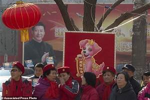 AP PHOTOS: Xi cult of personality unseen in China since ...