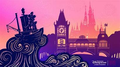 Shanghai Disneyland Disney Desktop Wallpapers Opening Park