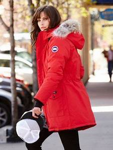 Love My Red Canada Goose Trillium Parka Style Pinterest Coats Canada And Parkas