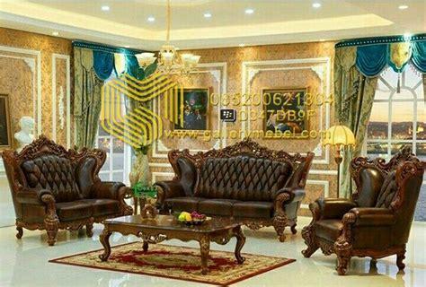 Set Sofa Tamu Klasik Mewah  Gallery Mebel
