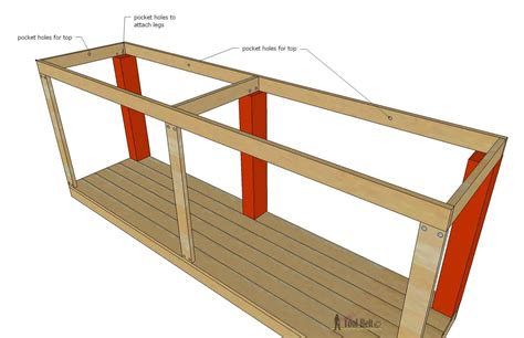 how to attach table top to legs console table with scroll legs her tool belt