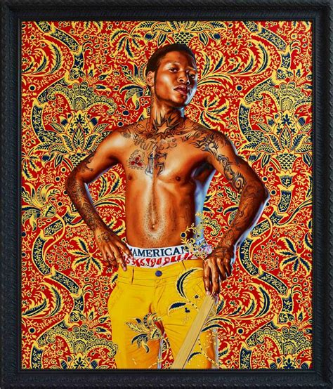 Instagram Dark Mode vibrant portraits  kehinde wiley  dna life 923 x 1080 · jpeg