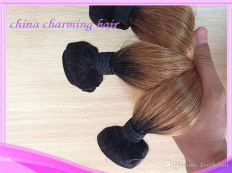 New Style #1b #27 Honey Blonde Dark Root Straight Ombre 2