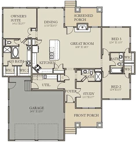 Smart Placement Craftsman Prairie Style House Plans Ideas by 17 Best Images About House Plans On 3 Car