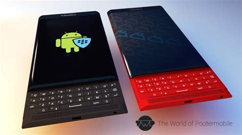 blackberry android blackberry venice android slider smartphone rendered in
