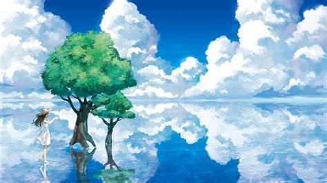 Anime Nature Wallpaper - anime nature wallpaper 77 images