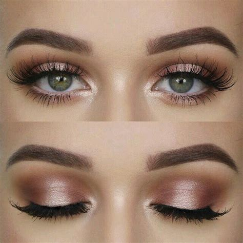 Gorgeous Pink Champagne Eyeshadow Look Beauty Makeup