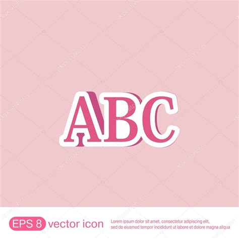 of all alphabet letters stock vector image 32655280 letters of the alphabet icon stock vector 169