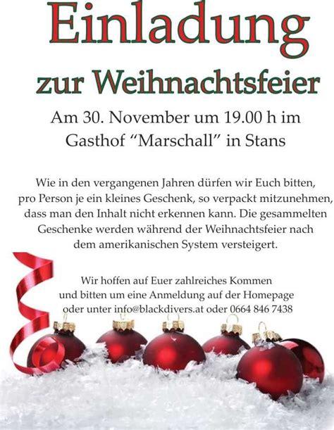 einladung bemerkenswert einladung weihnachtsfeier firma