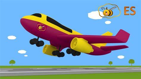 huevo sorpresa  avion dibujo animado educatiovo en