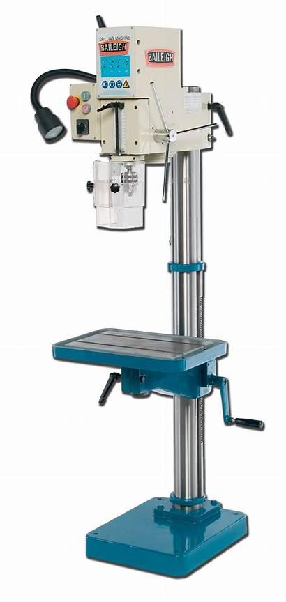 Drill Press Dp 1000g Baileigh Gear Driven