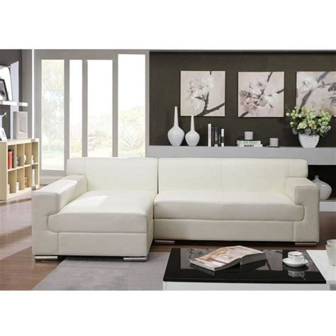 canapé cuir blanc angle photos canapé angle cuir blanc