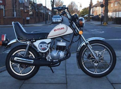 Suzuki Mopeds by Suzuki Or50 Funky Moped Classic Motorbikes