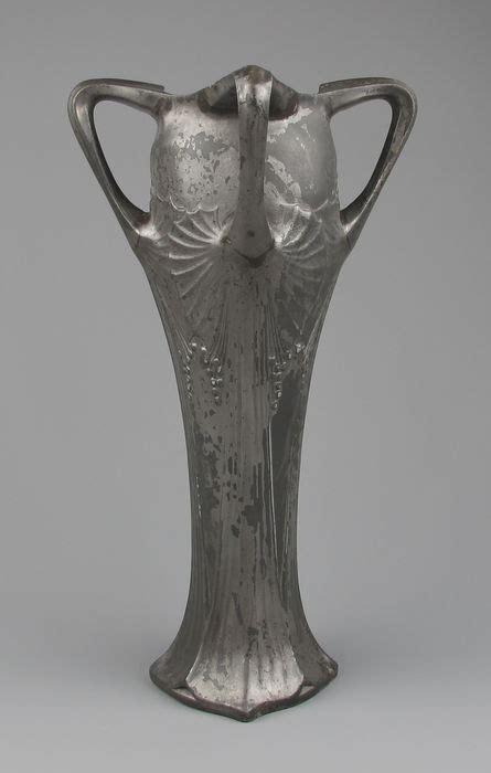 Ornamental Vase by Large Nouveau Pewter Ornamental Vase Catawiki