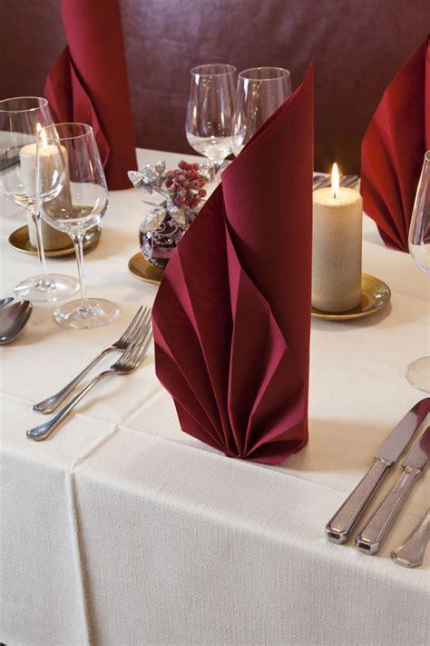 Tischdeko Servietten Falten by Tischdeko Servietten Falten Wohn Design