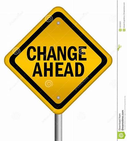 Change Ahead Sign Clipart Background Clip Changes