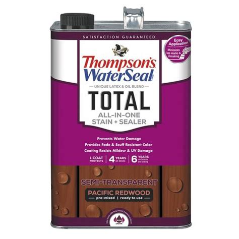 thompsons waterseal redwood total    stain
