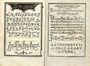 16th C Handwriting Manual
