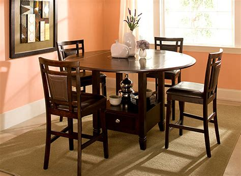 raymour and flanigan dining room sets northfield 5 pc counter height dining set brown
