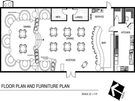 cafe kitchen floor plan restaurant floor plans imagery above is segment of 5086