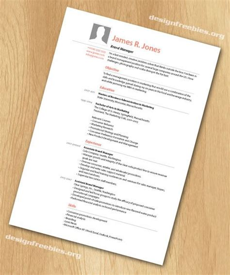 Indesign Resume Template by Free Indesign Resume Cv Template 2 Free Indesign