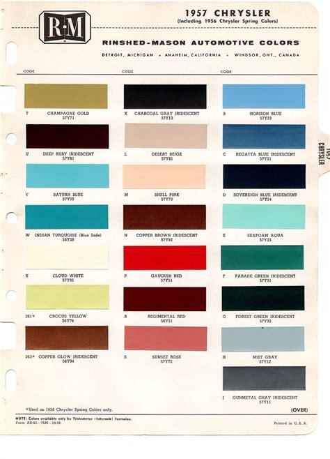 22 best images about car paint chips 1957 pinterest
