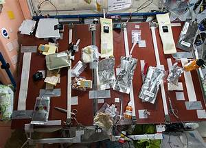 Food Table on the International Space Station - SpaceRef