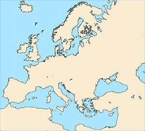 Map Of Europe Blank No Borders.Information About Blank Europe Map No Borders Yousense Info