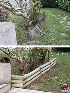 Bordure Bois Pas Cher : tuto installer des bordures de jardin ~ Dailycaller-alerts.com Idées de Décoration