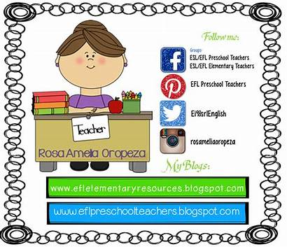Preschool Esl Efl Clipart Teachers Theme Resources