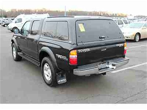 Toyota Tacoma Bed Cap by Purchase Used 2002 Toyota Tacoma 4x4 Crew Cab V6 Sr5