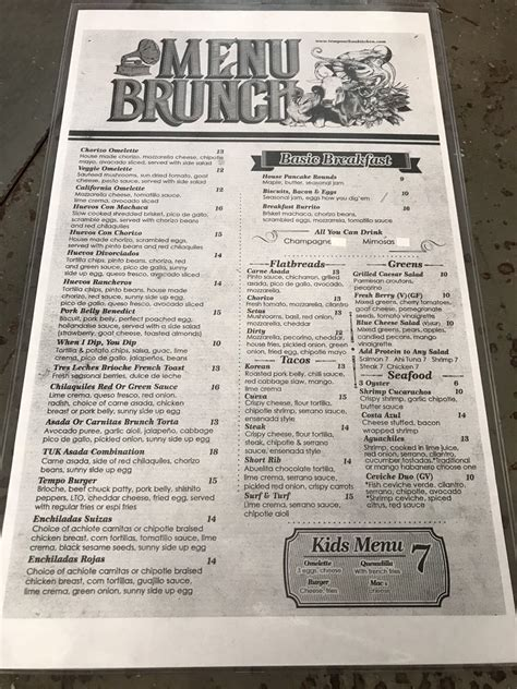 brunch menu yelp