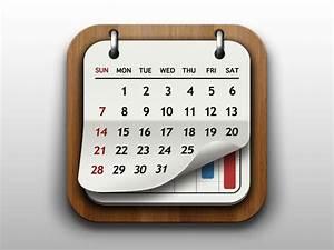 Dribbble - Calendar App Icon by Go Ando