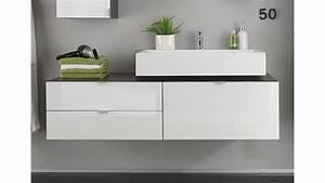 Badezimmerschrank Hochglanz Weiß : unterschrank beach grauer badezimmerschrank mit hochglanz wei ~ Indierocktalk.com Haus und Dekorationen