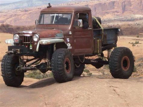 old truck jeep rat rod crawler old jeep willy trucks pinterest
