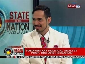 SONA: Panayam kay political analyst Prof. Richard ...